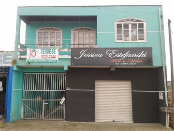 Sobrados no bairro Tatuquara na cidade de Curitiba