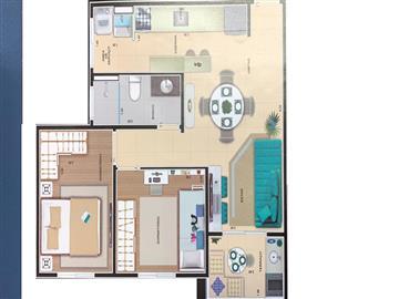 Apartamentos Rudge Ramos  Ref: JP-008