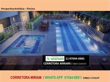 Ref: Edifício Valentina - 2 dormitórios  chácara santo antônio (zona leste) Consulte condições especiais! Corretora Miriam