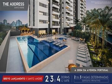 Ref: The Adress Santo André 3 ou 4 dormitórios  Não Especificado Antecipe-se ao lançamento e negocie direto com a Construtora