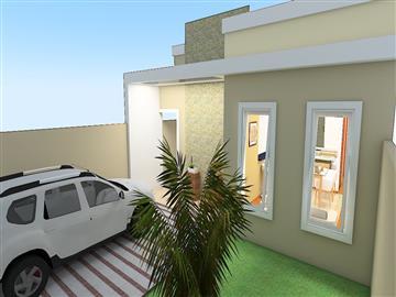 Casas Casa na Planta - Minha Casa Minha Vida - CEF R$185.000,00