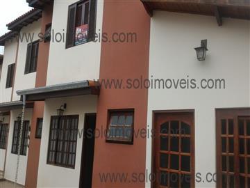 Casas em Condomínio Sobrado para locação em condomínio fechado no Jardim Mesquita R$ 1.000,00