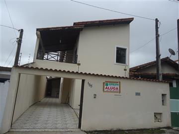 Casas no bairro Jardim Caiçara na cidade de Registro