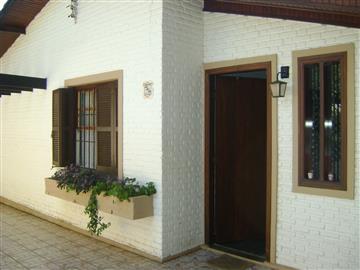 Casas no bairro Vila Santista na cidade de Atibaia