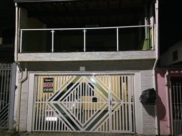 Sobrados no bairro Conjunto Alvorada na cidade de Poá