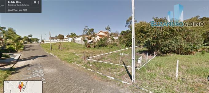 Terrenos em Criciuma no bairro Rio Maina