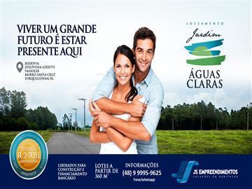 Terrenos Forquilhinha R$ 63.000,00
