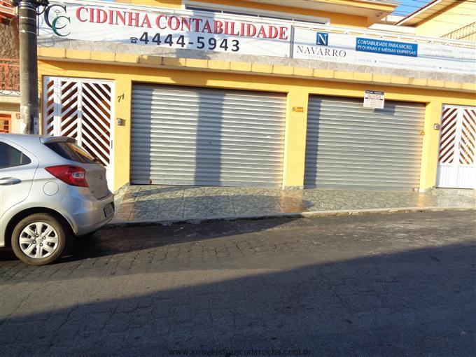 Salões Comerciais em Franco da Rocha no bairro Centro