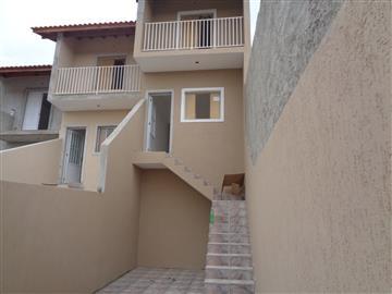 Casas da Caixa Econômica Federal no bairro Jardim Alegria na cidade de Francisco Morato