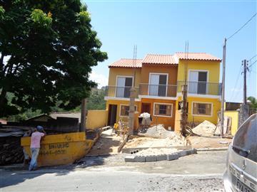 Casas da Caixa Econômica Federal no bairro Vila Lanfranki na cidade de Franco da Rocha