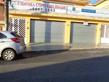 Salões Comerciais no bairro Centro na cidade de Franco da Rocha