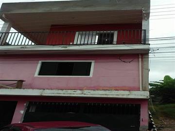 Casas no bairro Vila Olinda na cidade de Franco da Rocha