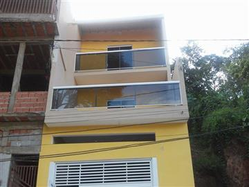 Casas da Caixa Econômica Federal no bairro Vila Rosa na cidade de Franco da Rocha