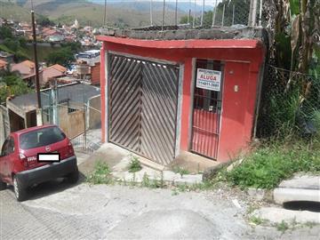 Casas no bairro Vila Guarani na cidade de Franco da Rocha