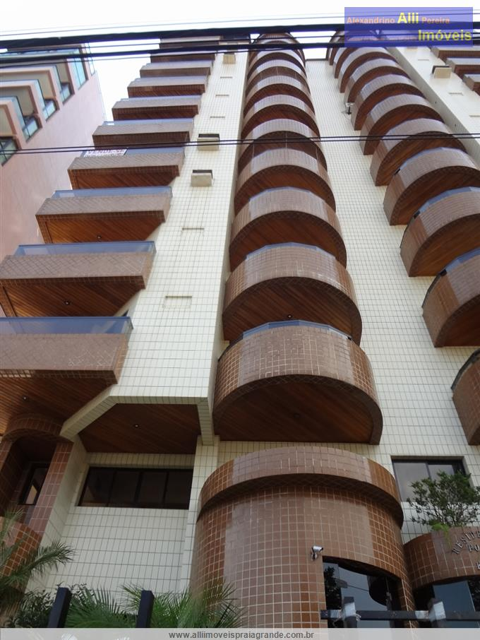 Apartamento mobiliado em Praia Grande no bairro Canto do Forte