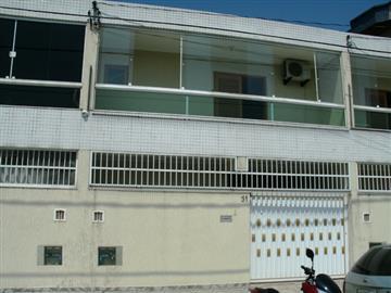 Casas na Praia no bairro Campo da Aviação na cidade de Praia Grande