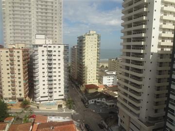 Apartamento mobiliado no bairro Canto do Forte na cidade de Praia Grande