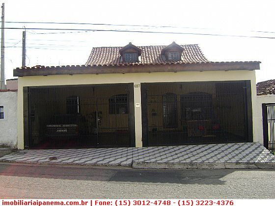 Casas em Sorocaba no bairro Vila Angélica
